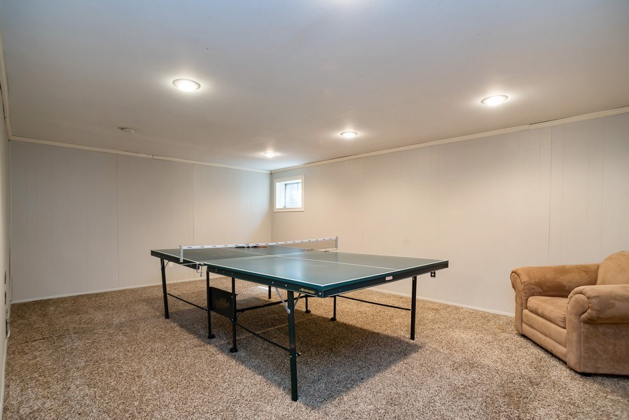 Real Estate Photography - 504 W. Brittany Drive, Arlington Heights, IL, 60004 - Recreation Room (Full Finished Basement)