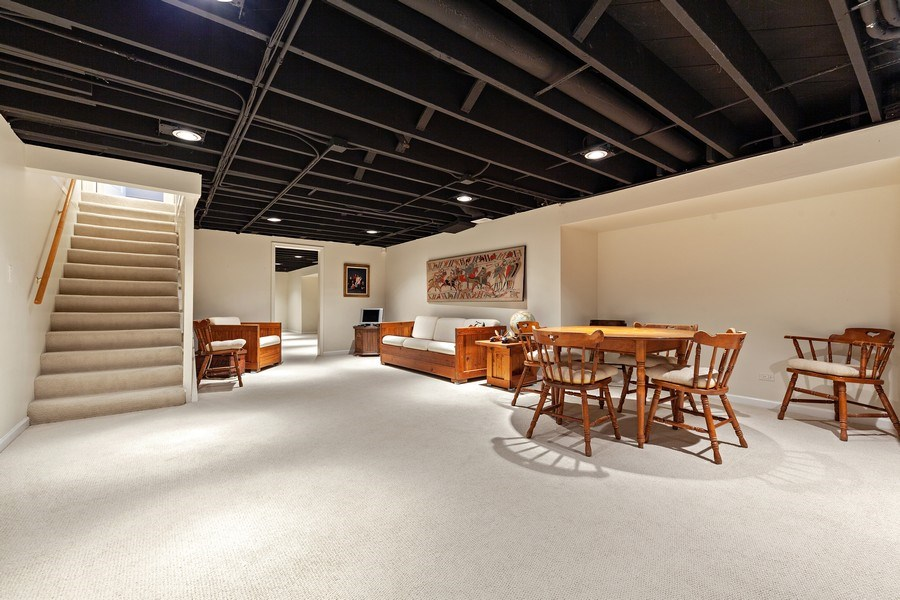 Real Estate Photography - 511 Cambridge, Lake Bluff, IL, 60044 - Basement