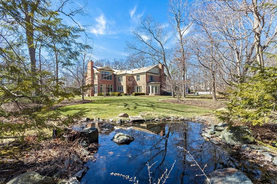 Real Estate Photography - 511 Cambridge, Lake Bluff, IL, 60044 - Back Yard
