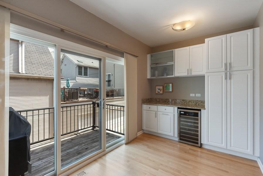 Real Estate Photography - 1522 W. School, #F, Chicago, IL, 60657 - Kitchen