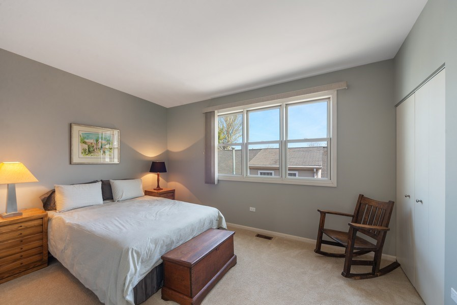 Real Estate Photography - 1522 W. School, #F, Chicago, IL, 60657 - Second Bedroom