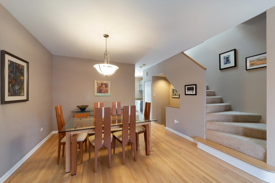 Real Estate Photography - 1522 W. School, #F, Chicago, IL, 60657 - Dining Room