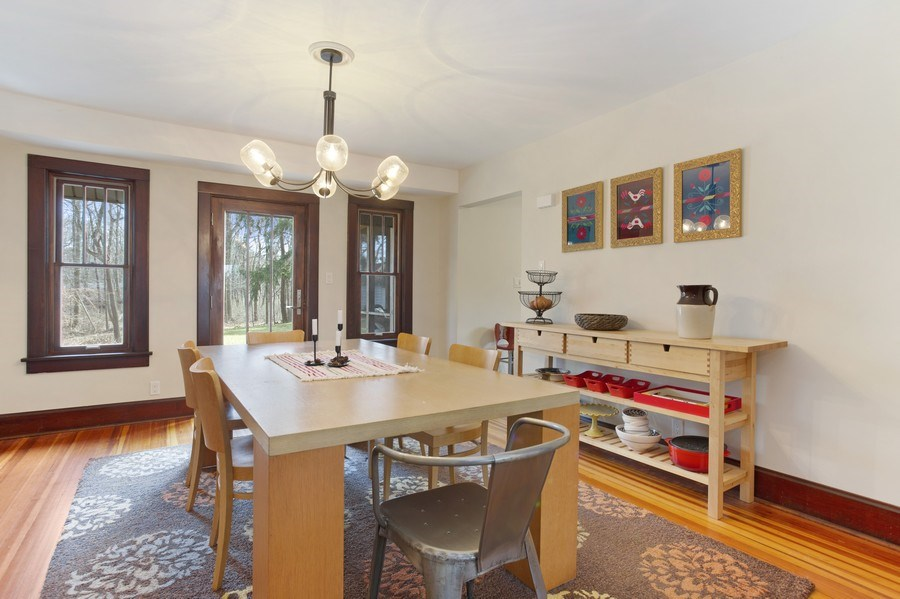 Real Estate Photography - 14832 Park Lane, Lakeside, MI, 49116 - Dining Room