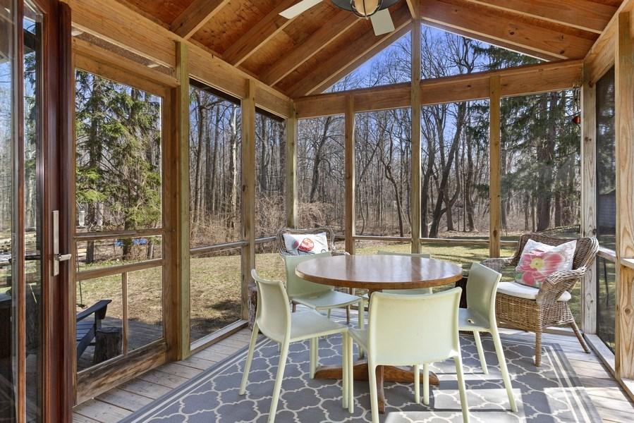 Real Estate Photography - 14832 Park Lane, Lakeside, MI, 49116 - Porch