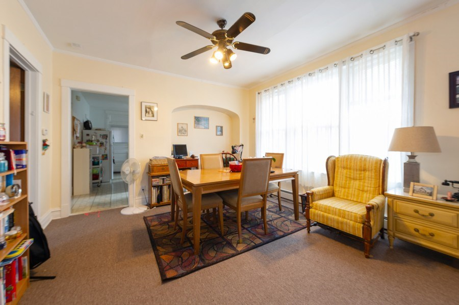 Real Estate Photography - 5024 W Patterson, Chicago, IL, 60641 - Dining Room