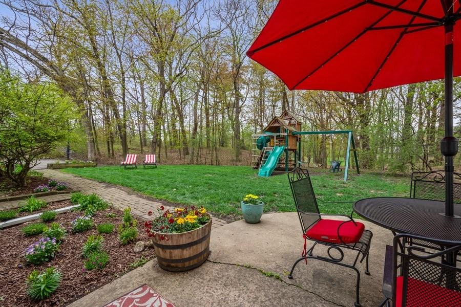 Real Estate Photography - 1 Bellwood Dr, Barrington Hills, IL, 60010 - Patio & Backyard
