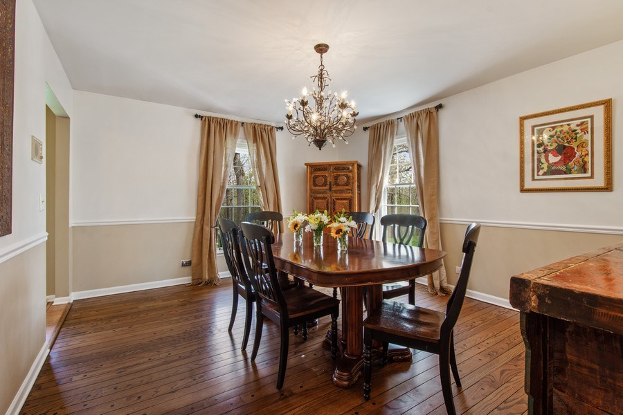Real Estate Photography - 1 Bellwood Dr, Barrington Hills, IL, 60010 - Dining Room