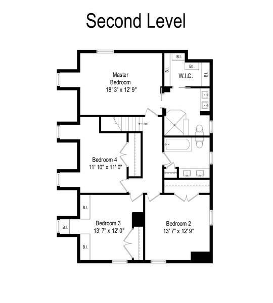 Real Estate Photography - 1 Bellwood Dr, Barrington Hills, IL, 60010 - Floor Plan