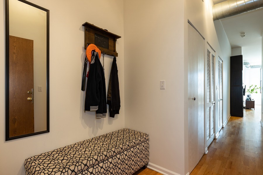 Real Estate Photography - 950 W Leland, Unit 308, Chicago, IL, 60640 - Foyer