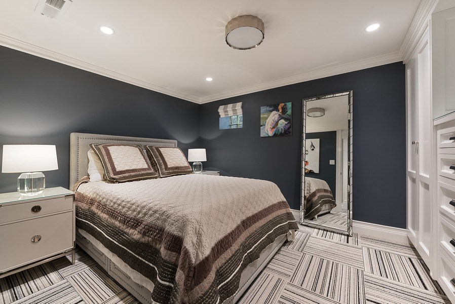 Real Estate Photography - 410 W Webster Ave, Chicago, IL, 60614 - 4th Bedroom