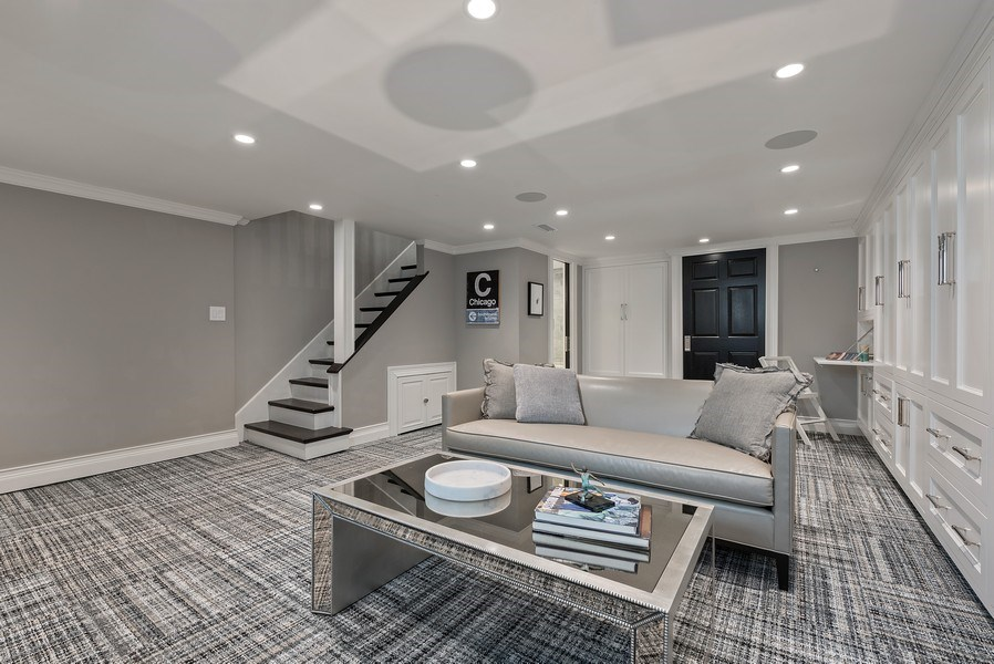 Real Estate Photography - 410 W Webster Ave, Chicago, IL, 60614 - Family Room