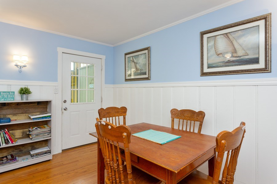 Real Estate Photography - 15657 Lakeshore Road, 3, Union Pier, MI, 49129 - Dining Room