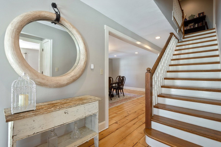 Real Estate Photography - 61 Ridge Road, Barrington Hills, IL, 60010 - Second Staircase
