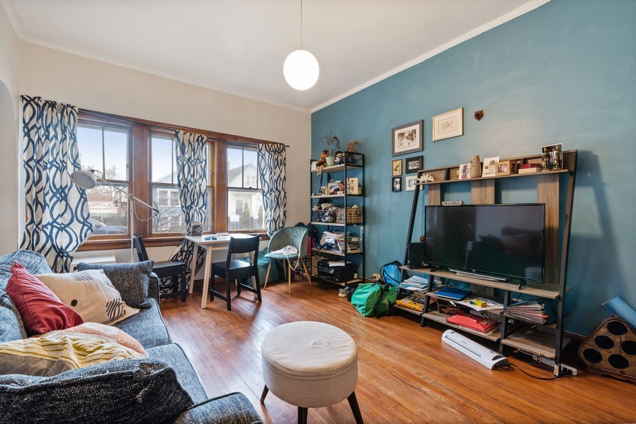 Real Estate Photography - 3016 N Christiana Ave, Chicago, IL, 60618 - Living Room