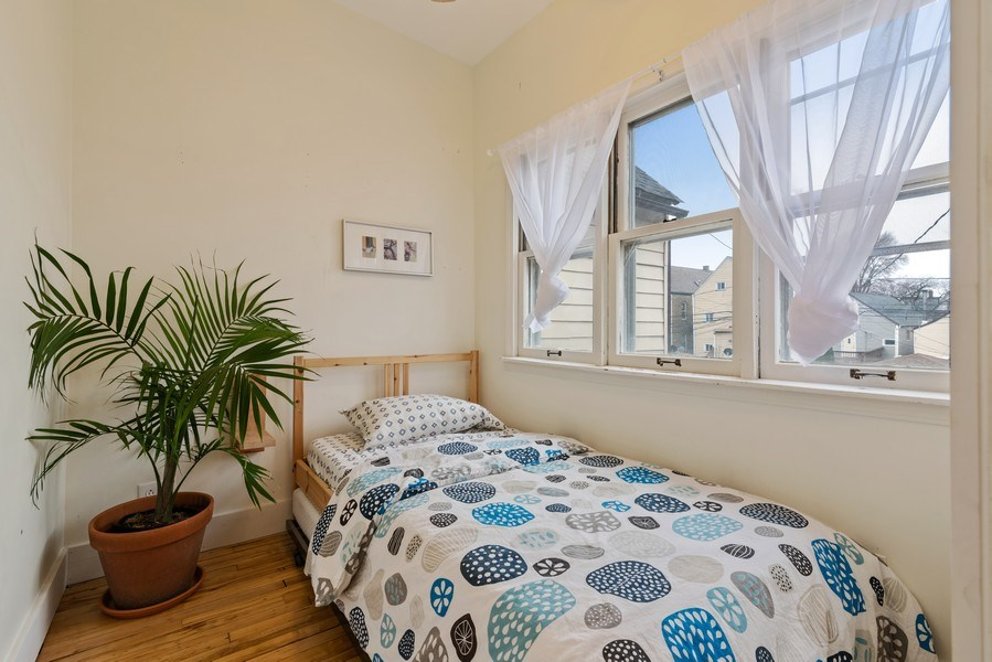 Real Estate Photography - 3016 N Christiana Ave, Chicago, IL, 60618 - 2nd Bedroom