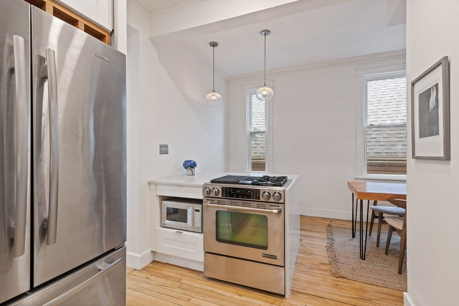 Real Estate Photography - 3016 N Christiana Ave, Chicago, IL, 60618 - Kitchen