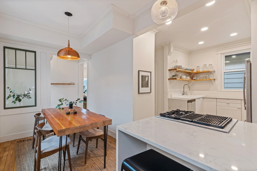 Real Estate Photography - 3016 N Christiana Ave, Chicago, IL, 60618 - Kitchen / Breakfast Room