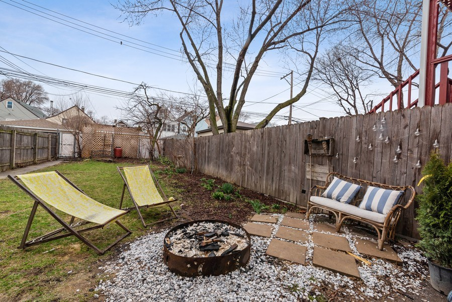 Real Estate Photography - 3016 N Christiana Ave, Chicago, IL, 60618 - Back Yard