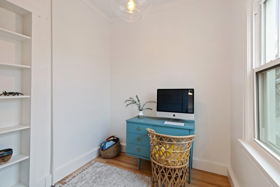 Real Estate Photography - 3016 N Christiana Ave, Chicago, IL, 60618 - Office