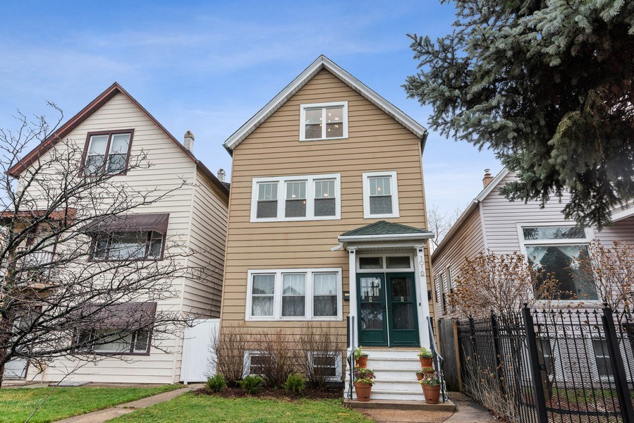 Real Estate Photography - 3016 N Christiana Ave, Chicago, IL, 60618 - Front View
