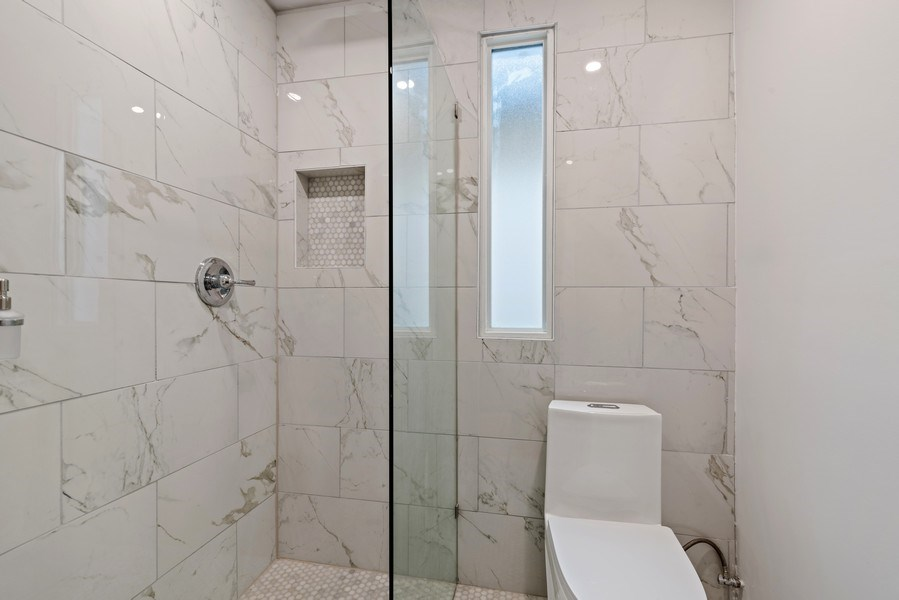 Real Estate Photography - 3016 N Christiana Ave, Chicago, IL, 60618 - Bathroom