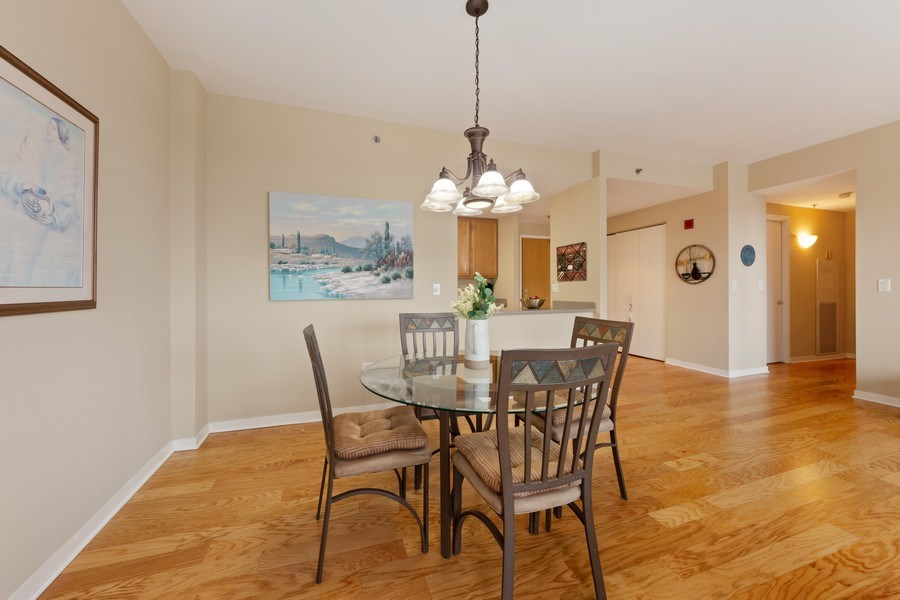 Real Estate Photography - 77 S Evergreen, 806, Arlington Heights, IL, 60005 - Dining Room