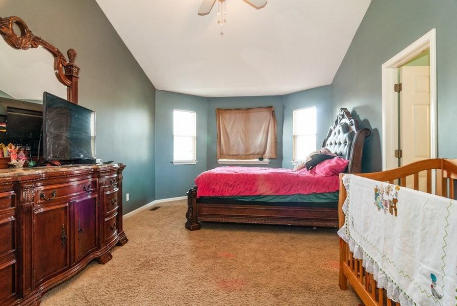 Real Estate Photography - 1454 Ashwood Dr, Elgin, IL, 60123 - Master Bedroom