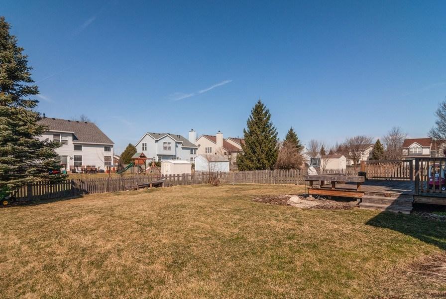 Real Estate Photography - 1454 Ashwood Dr, Elgin, IL, 60123 - Back Yard