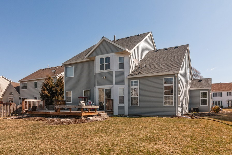 Real Estate Photography - 1454 Ashwood Dr, Elgin, IL, 60123 - Rear View