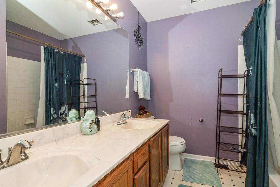 Real Estate Photography - 1454 Ashwood Dr, Elgin, IL, 60123 - 2nd Bathroom