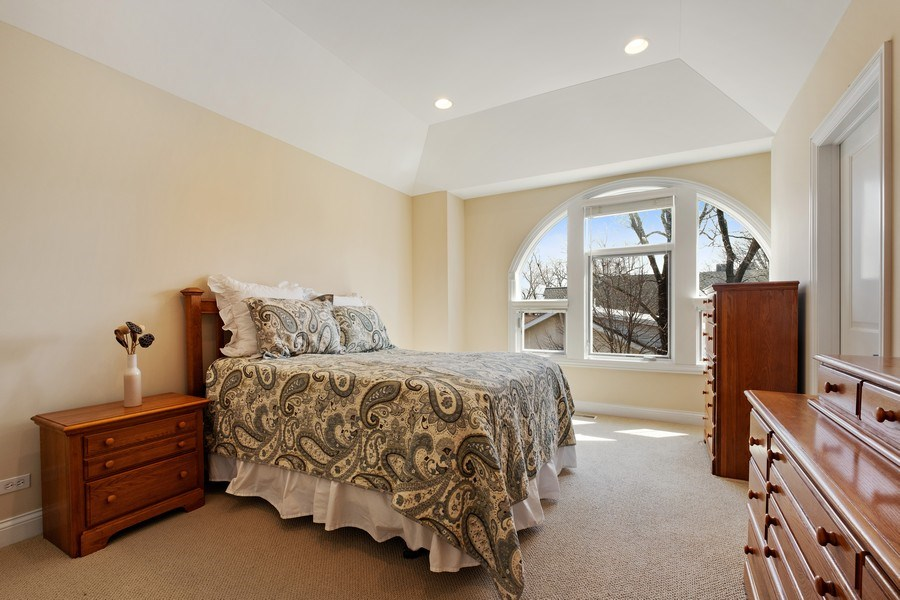 Real Estate Photography - 1771 Dewes, E, Glenview, IL, 60025 - Master Bedroom
