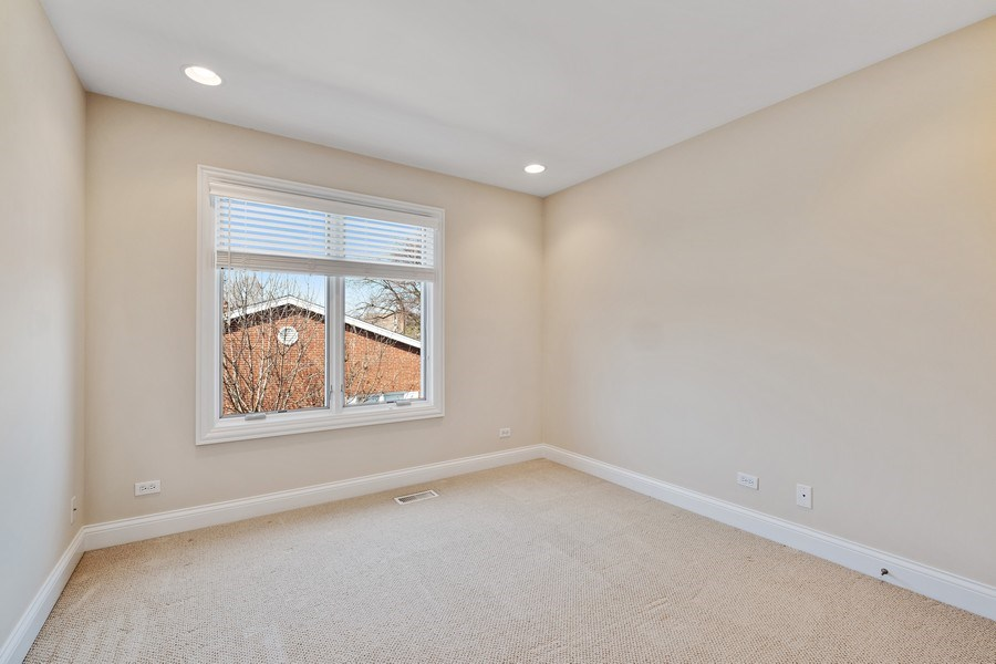 Real Estate Photography - 1771 Dewes, E, Glenview, IL, 60025 - 3rd Bedroom