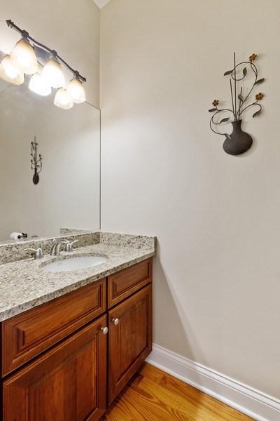 Real Estate Photography - 1771 Dewes, E, Glenview, IL, 60025 - Half Bath