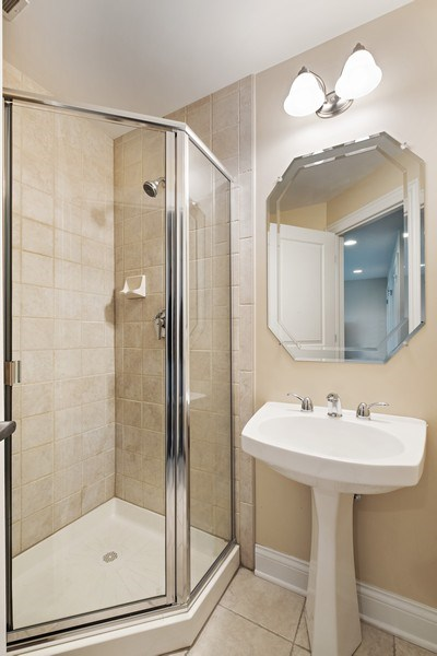 Real Estate Photography - 1771 Dewes, E, Glenview, IL, 60025 - Bathroom
