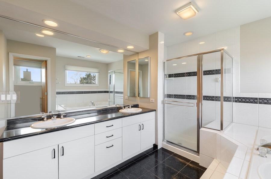 Real Estate Photography - 2026 Sheridan Ct, Buffalo Grove, IL, 60089 - Master Bathroom
