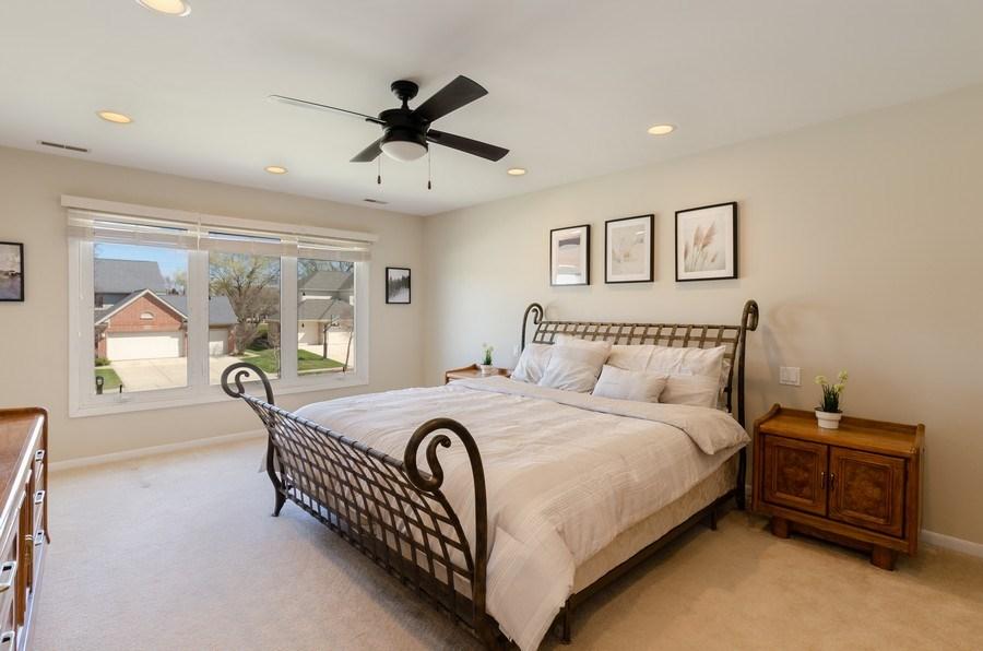 Real Estate Photography - 2026 Sheridan Ct, Buffalo Grove, IL, 60089 - Master Bedroom