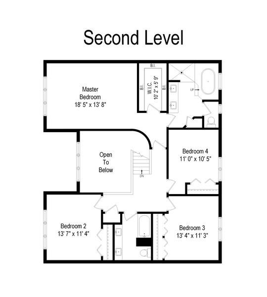 Real Estate Photography - 2026 Sheridan Ct, Buffalo Grove, IL, 60089 - Floor Plan