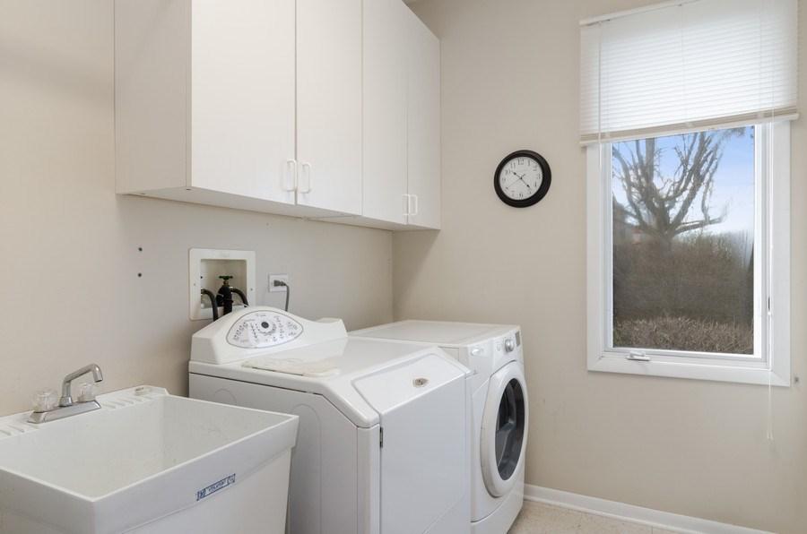 Real Estate Photography - 2026 Sheridan Ct, Buffalo Grove, IL, 60089 - Laundry Room