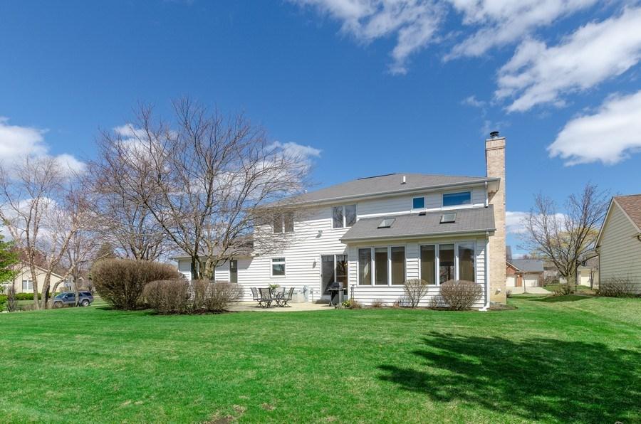 Real Estate Photography - 2026 Sheridan Ct, Buffalo Grove, IL, 60089 - Rear View