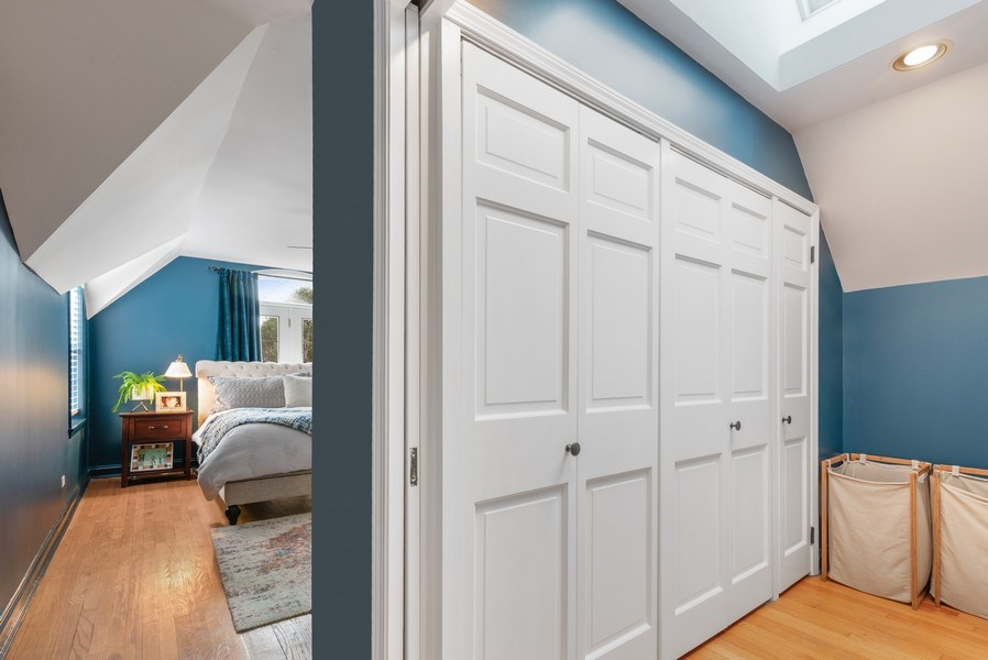 Real Estate Photography - 3044 Harrison St, Evanston, IL, 60201 - Master Bedroom