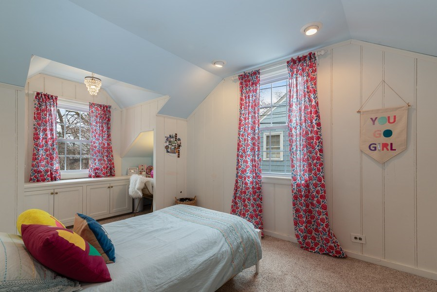 Real Estate Photography - 3044 Harrison St, Evanston, IL, 60201 - 3rd Bedroom