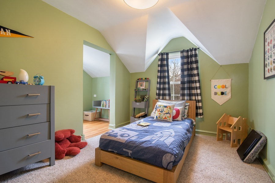 Real Estate Photography - 3044 Harrison St, Evanston, IL, 60201 - 4th Bedroom