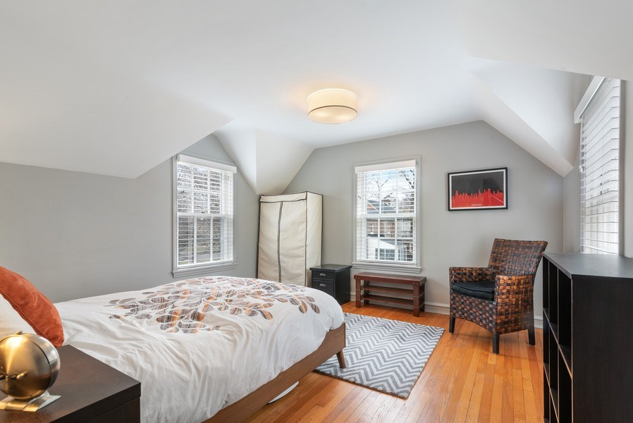 Real Estate Photography - 3044 Harrison St, Evanston, IL, 60201 - 5th Bedroom