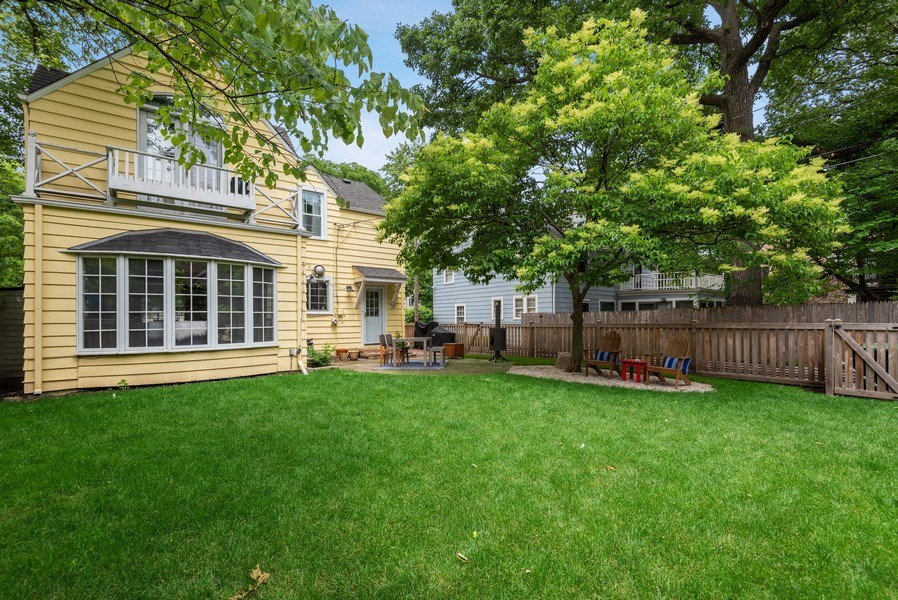 Real Estate Photography - 3044 Harrison St, Evanston, IL, 60201 - Back Yard