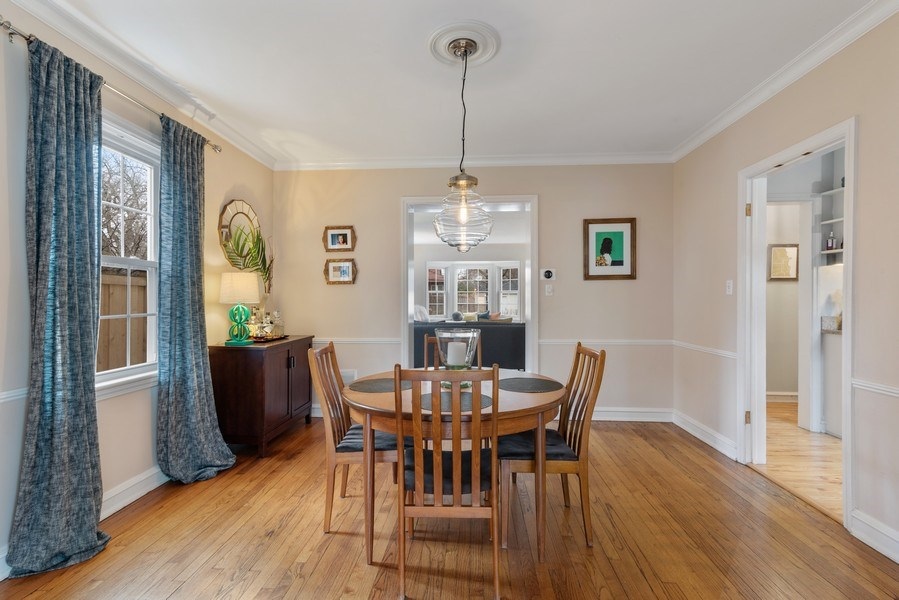 Real Estate Photography - 3044 Harrison St, Evanston, IL, 60201 - Dining Room