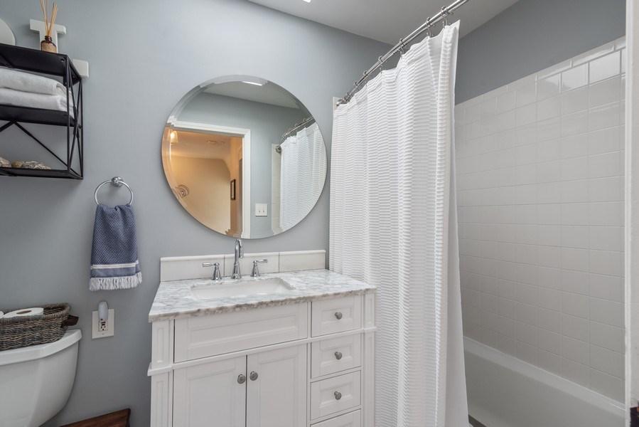 Real Estate Photography - 3044 Harrison St, Evanston, IL, 60201 - Bathroom
