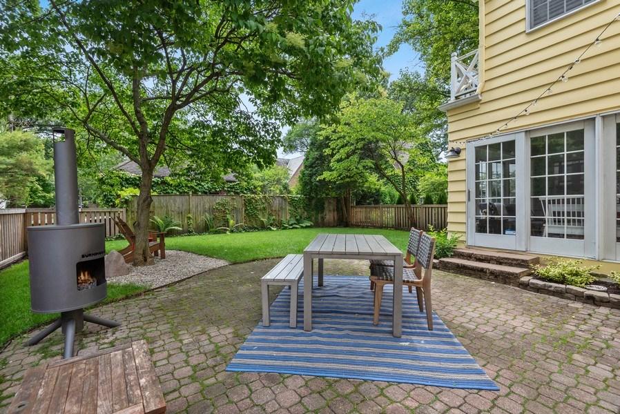 Real Estate Photography - 3044 Harrison St, Evanston, IL, 60201 - Patio