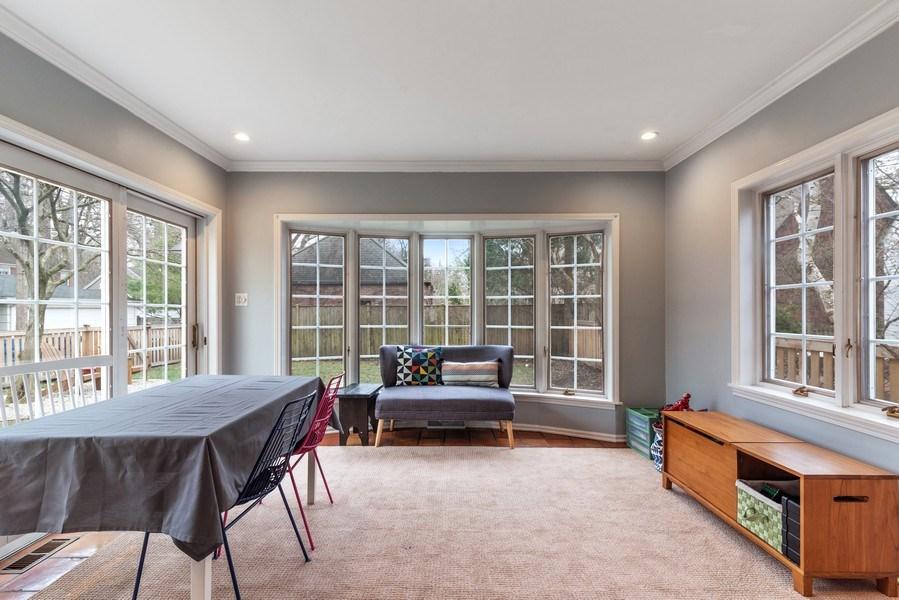 Real Estate Photography - 3044 Harrison St, Evanston, IL, 60201 - Sun Room