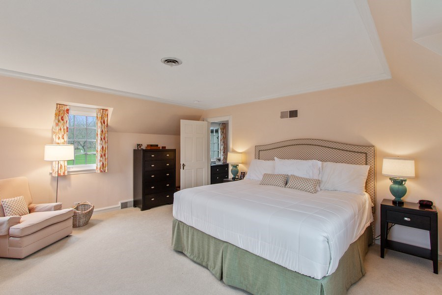 Real Estate Photography - 221 Glenwood, Lake Forest, IL, 60045 - Master Bedroom