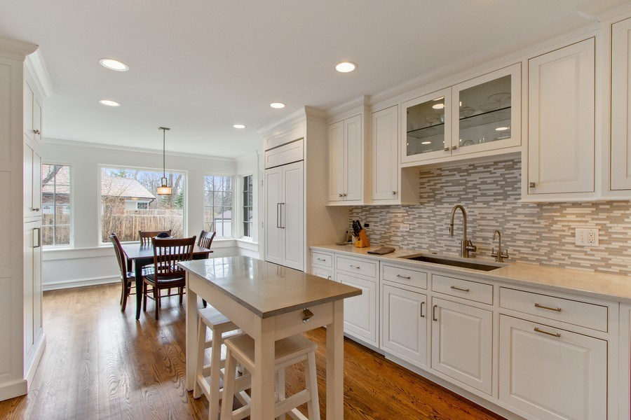 Real Estate Photography - 221 Glenwood, Lake Forest, IL, 60045 - Kitchen / Breakfast Room